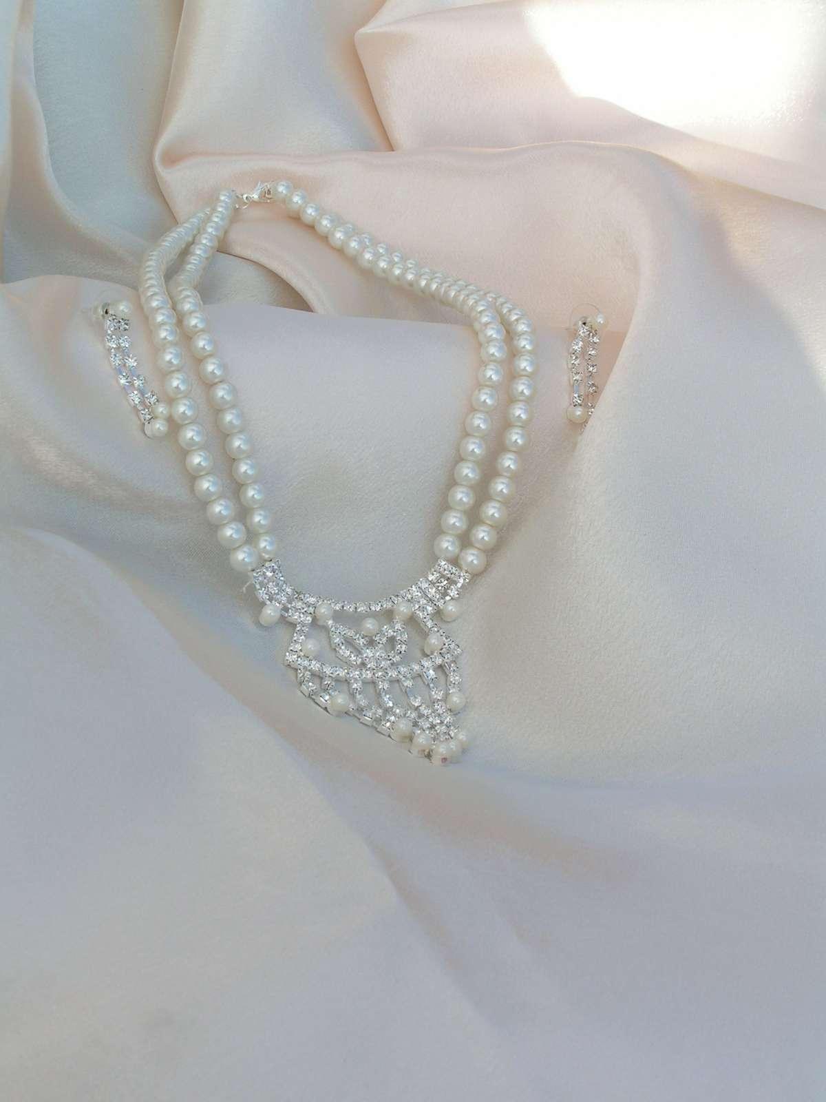Sada - náhrdelník + náušnice - Obrázek č. 1