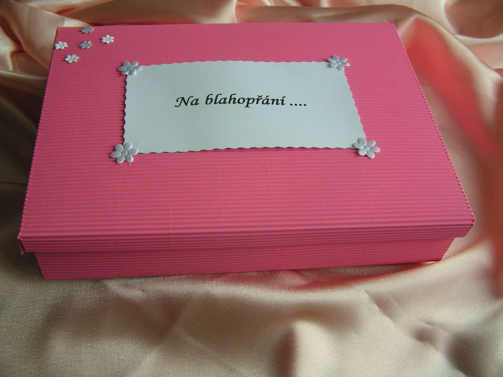 Krabice na přání/obálky - Obrázek č. 2