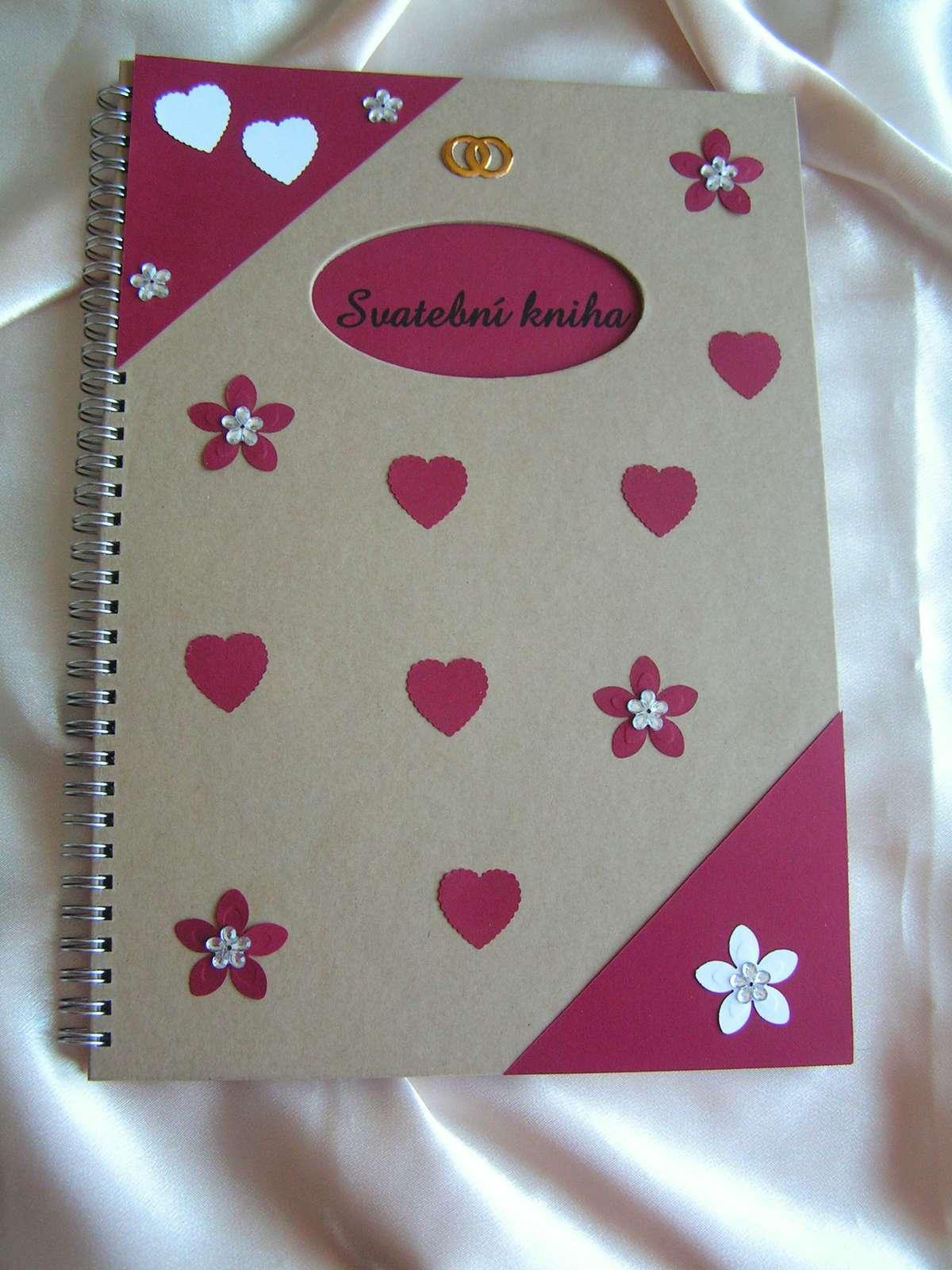 Svatební kniha - kniha hostů A4 - Obrázek č. 1