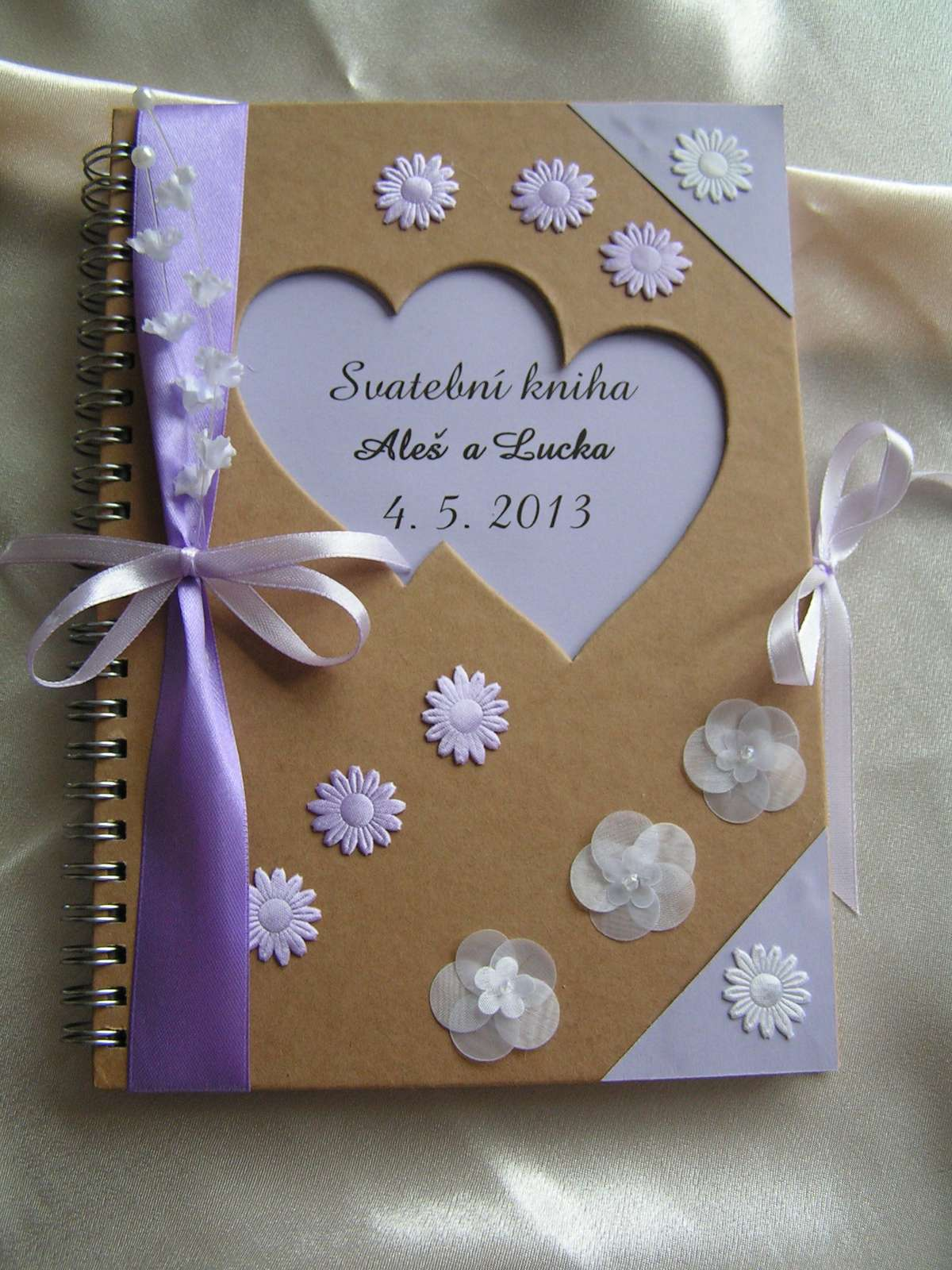 Svatební kniha - kniha hostů A5 - Obrázek č. 1