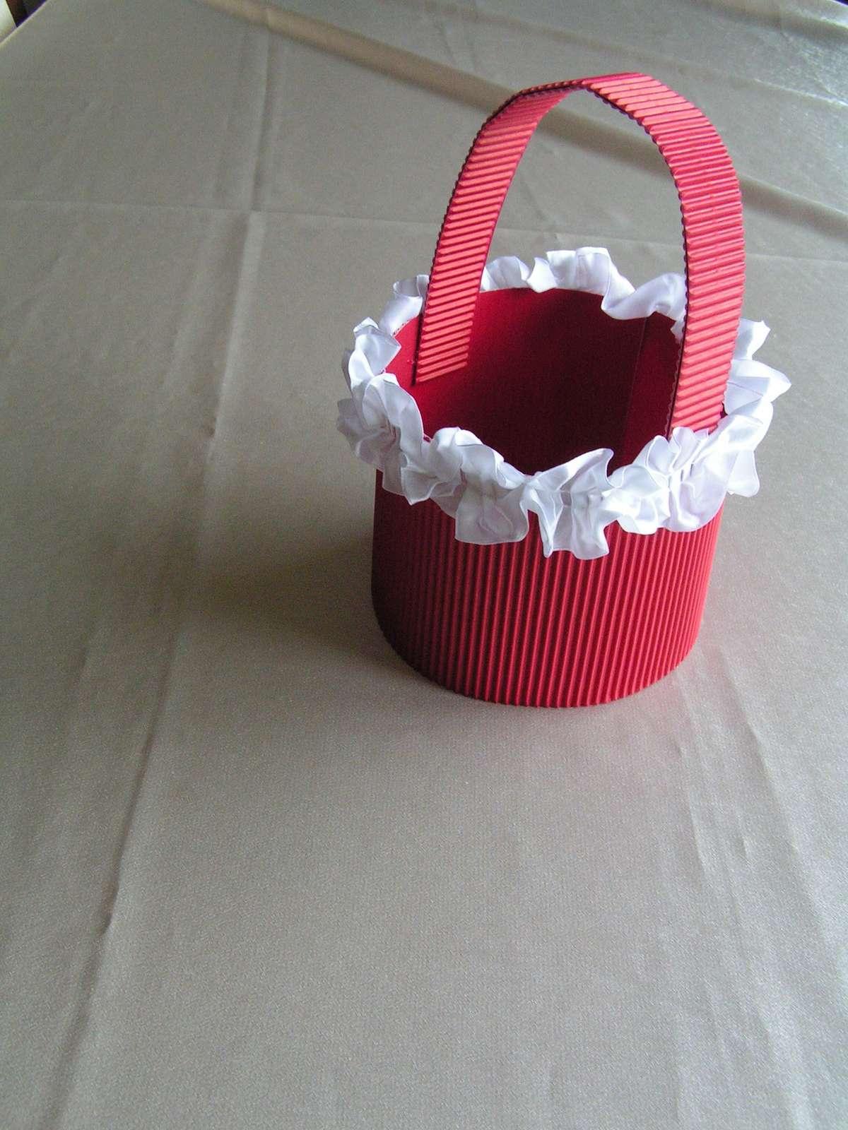 Košíček pro družičky - Obrázek č. 2