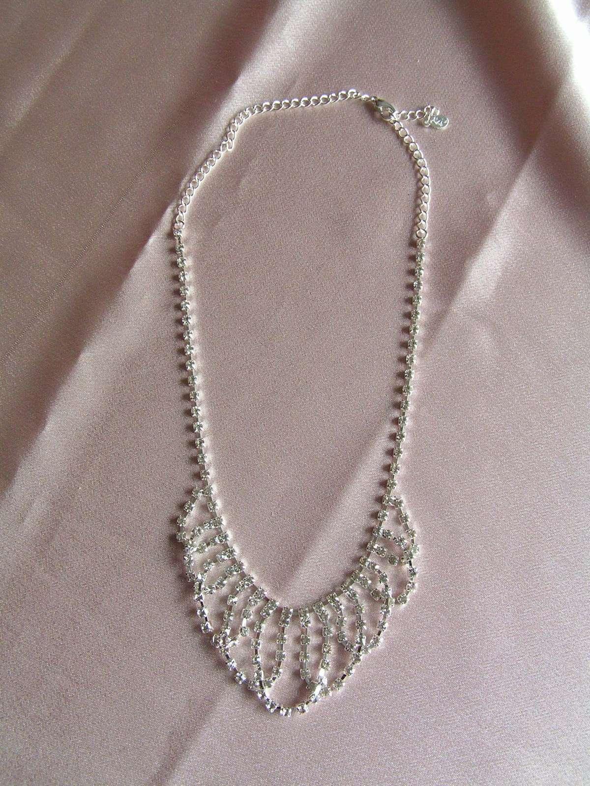 Štrasový náhrdelník - Obrázek č. 1