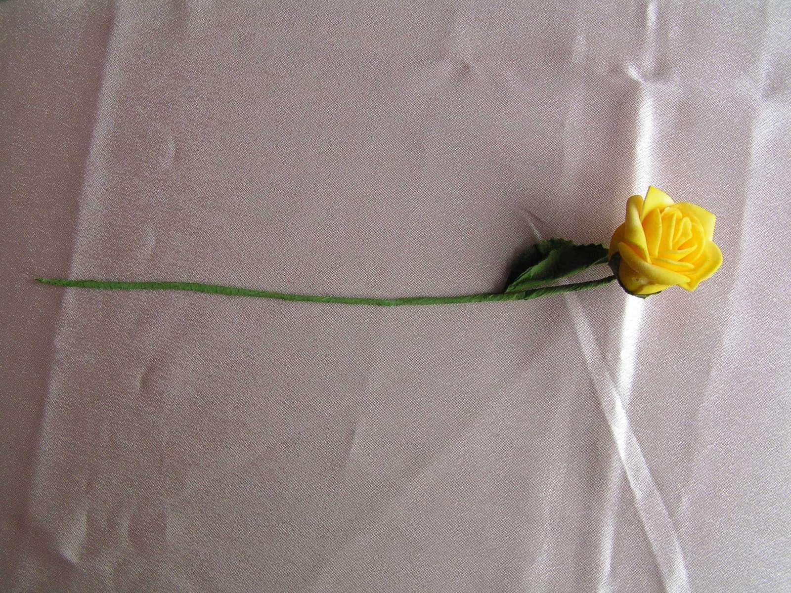Pěnové růžičky cca 4 cm - Obrázek č. 2
