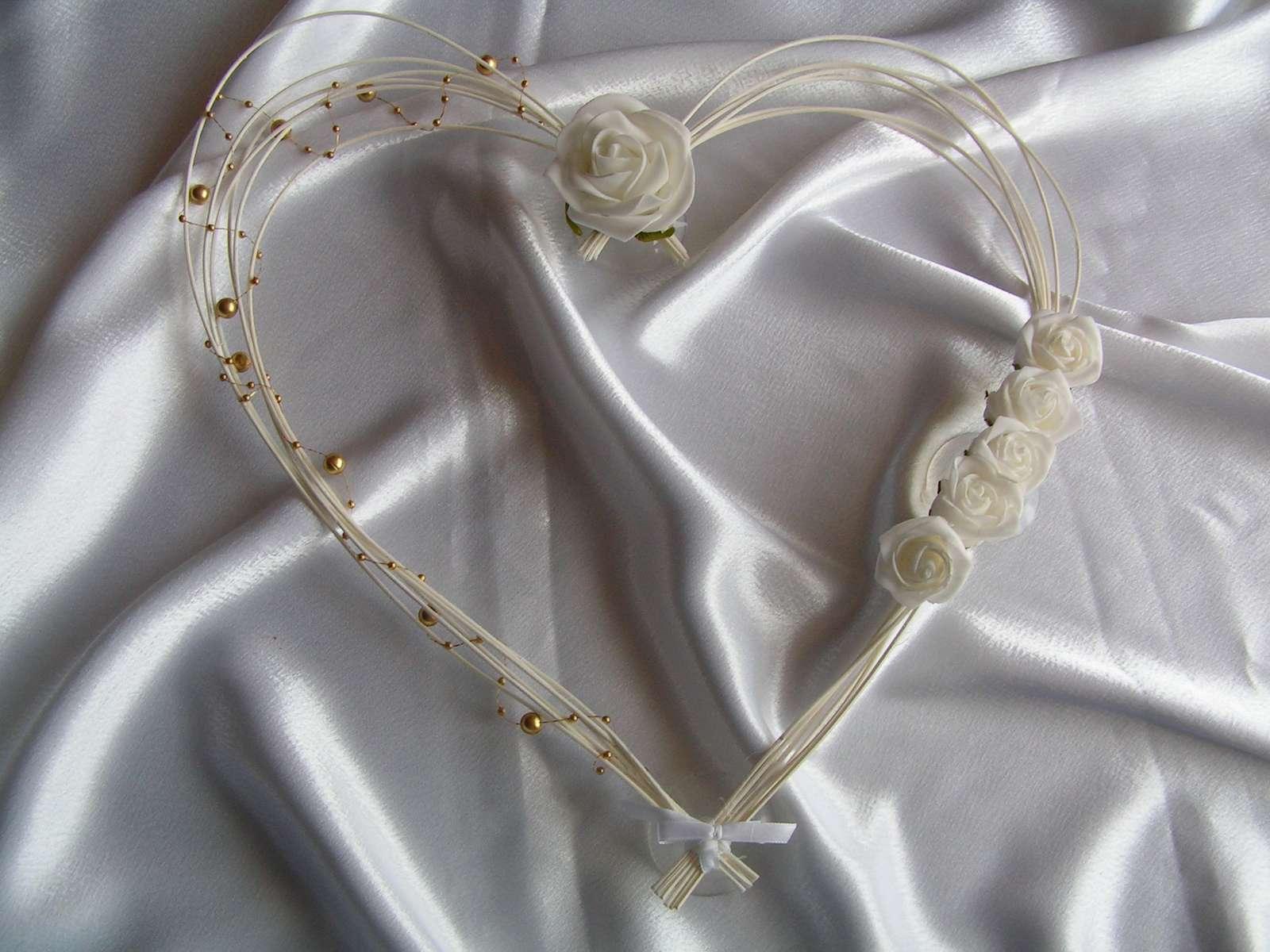 Pedigové srdce - 30 cm - Obrázek č. 1