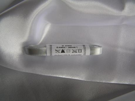 Saténová stuha 6 mm - Obrázek č. 1