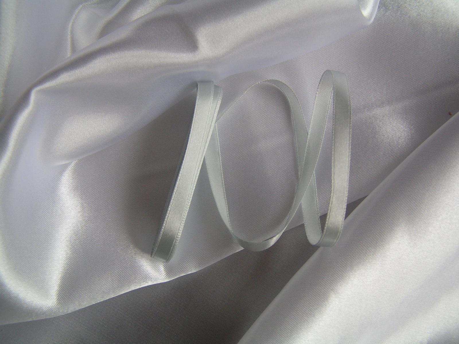 Saténová stuha 6 mm - Obrázek č. 2