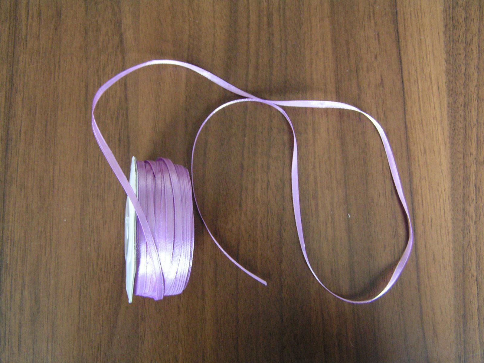 Saténová stuha 3 mm - Obrázek č. 1