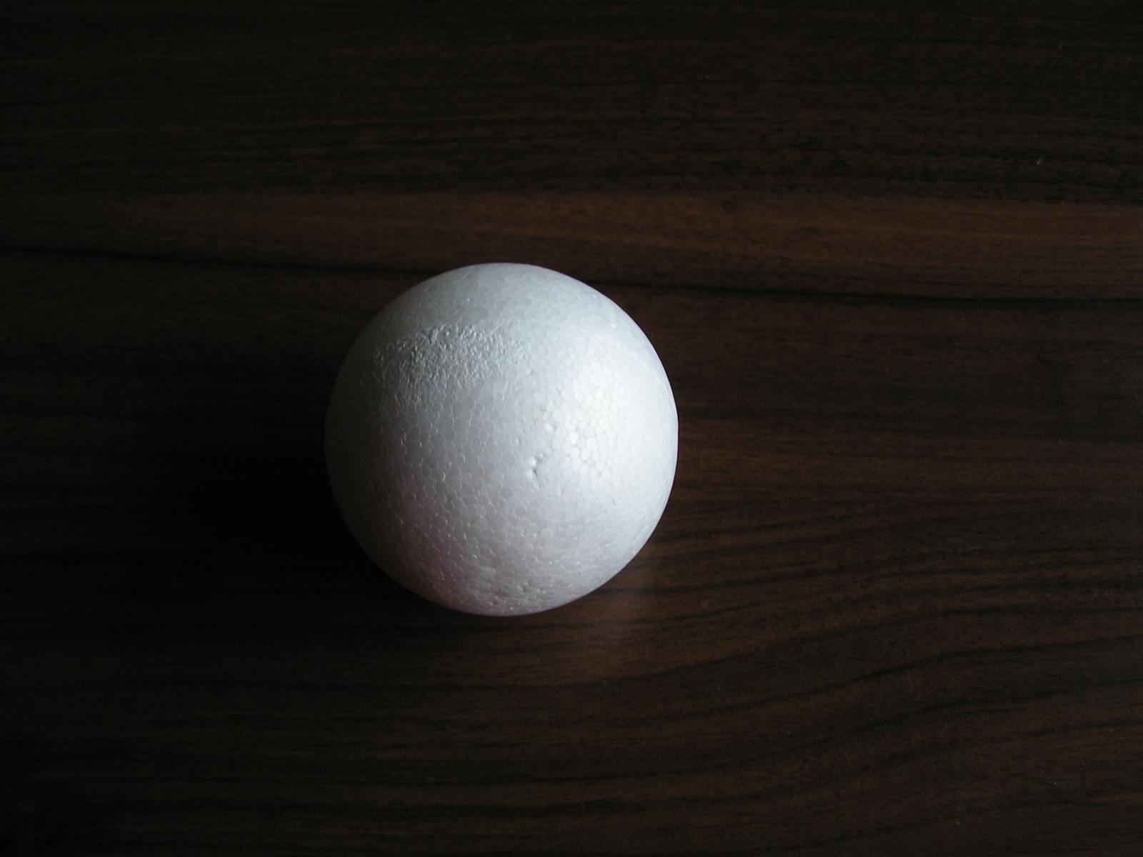 Polystyrenová koule 75 mm - Obrázek č. 1