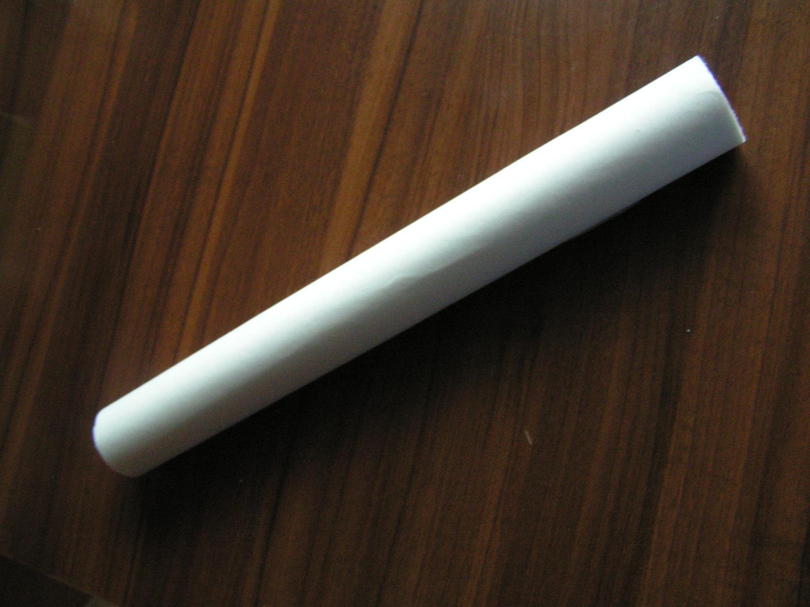 Bílý dekorační vlizelín - Obrázek č. 1