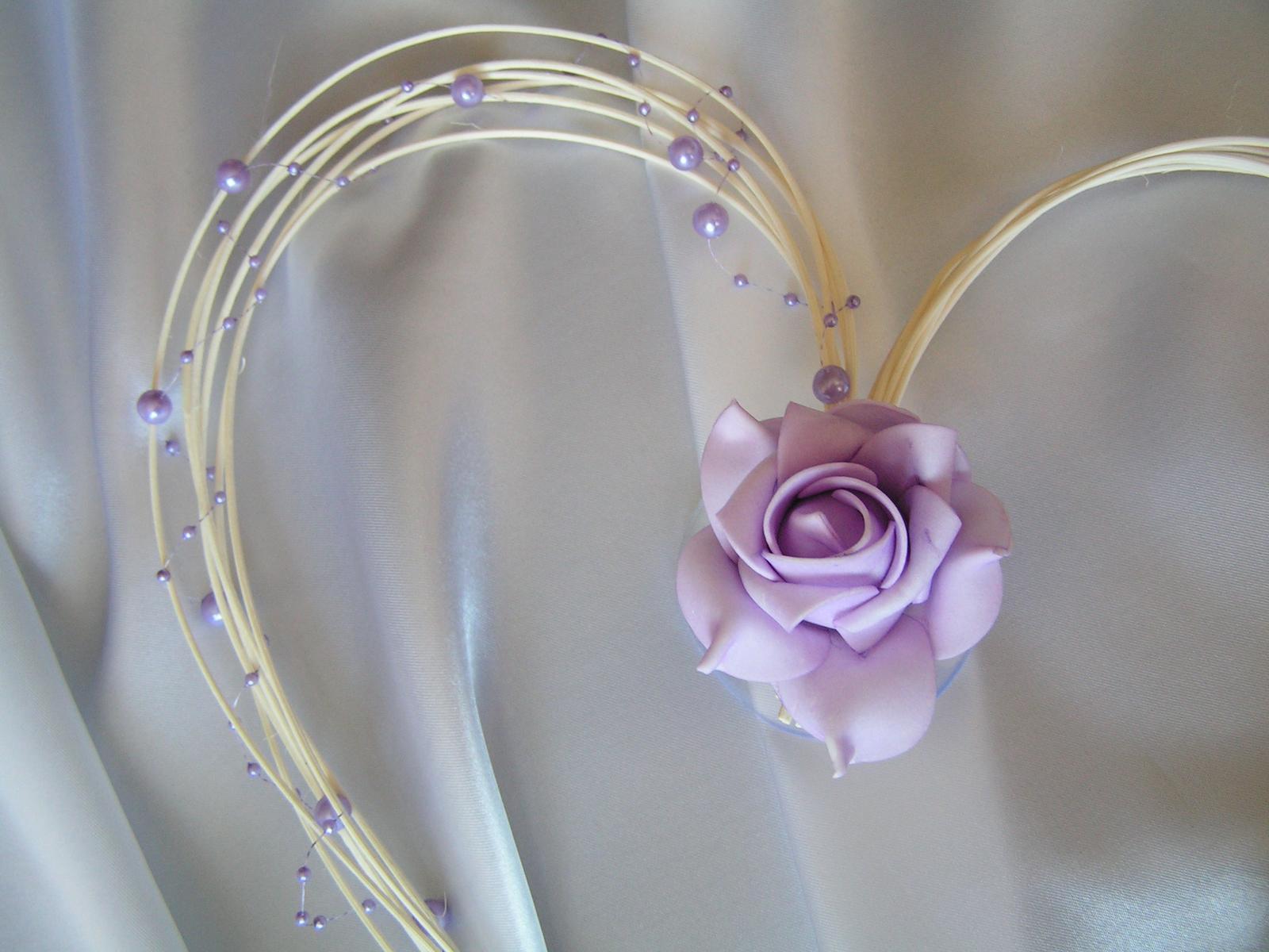 Pedigové srdce - 30 cm - Obrázek č. 3