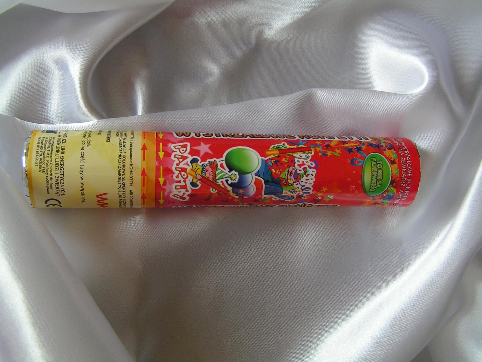 Vystřelovací konfety - srdíčka - Obrázek č. 1