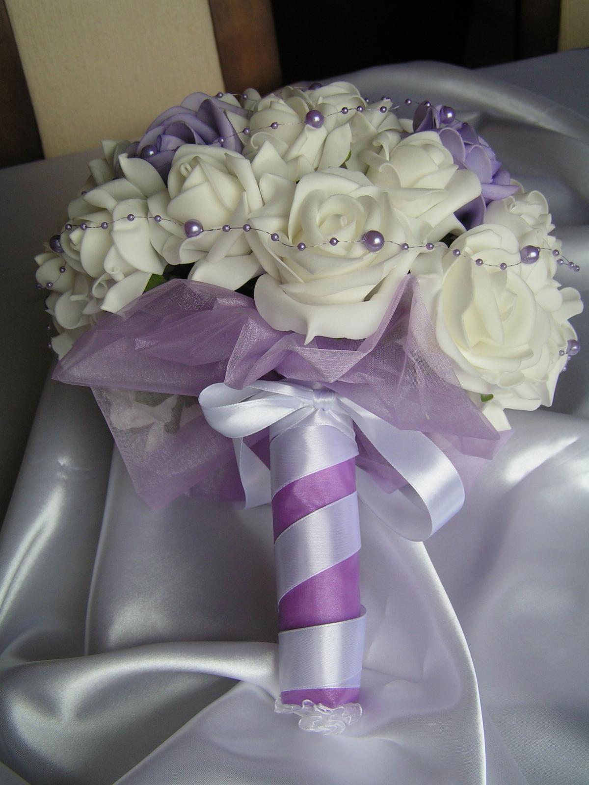 Velká kytice z pěnových růží - Obrázek č. 4