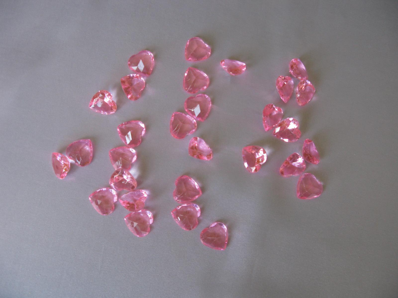 Růžová srdíčka - Obrázek č. 1