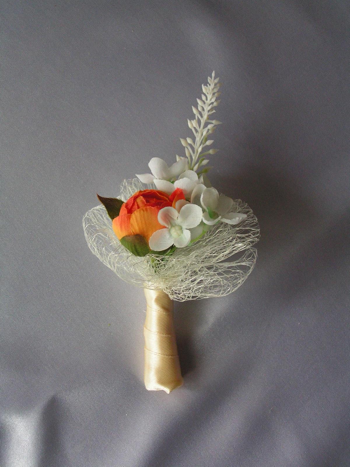 Malá kytička - např. jako korsáž - Obrázek č. 1