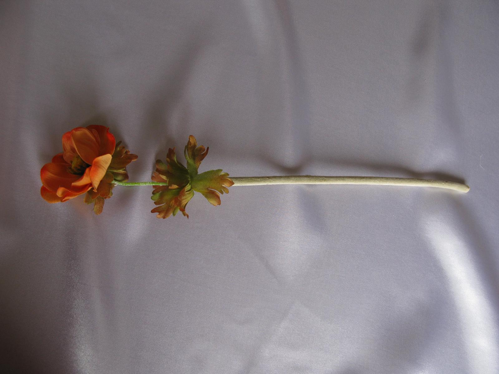 Umělá květina - anemon - Obrázek č. 3