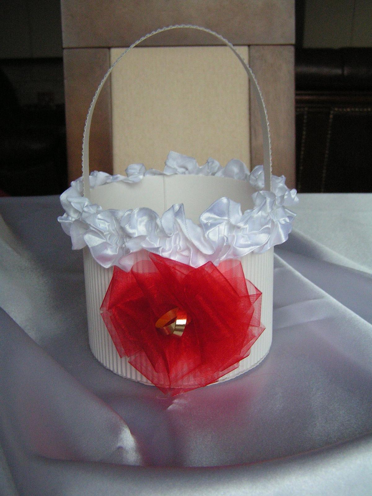 Košíček pro družičky - Obrázek č. 1