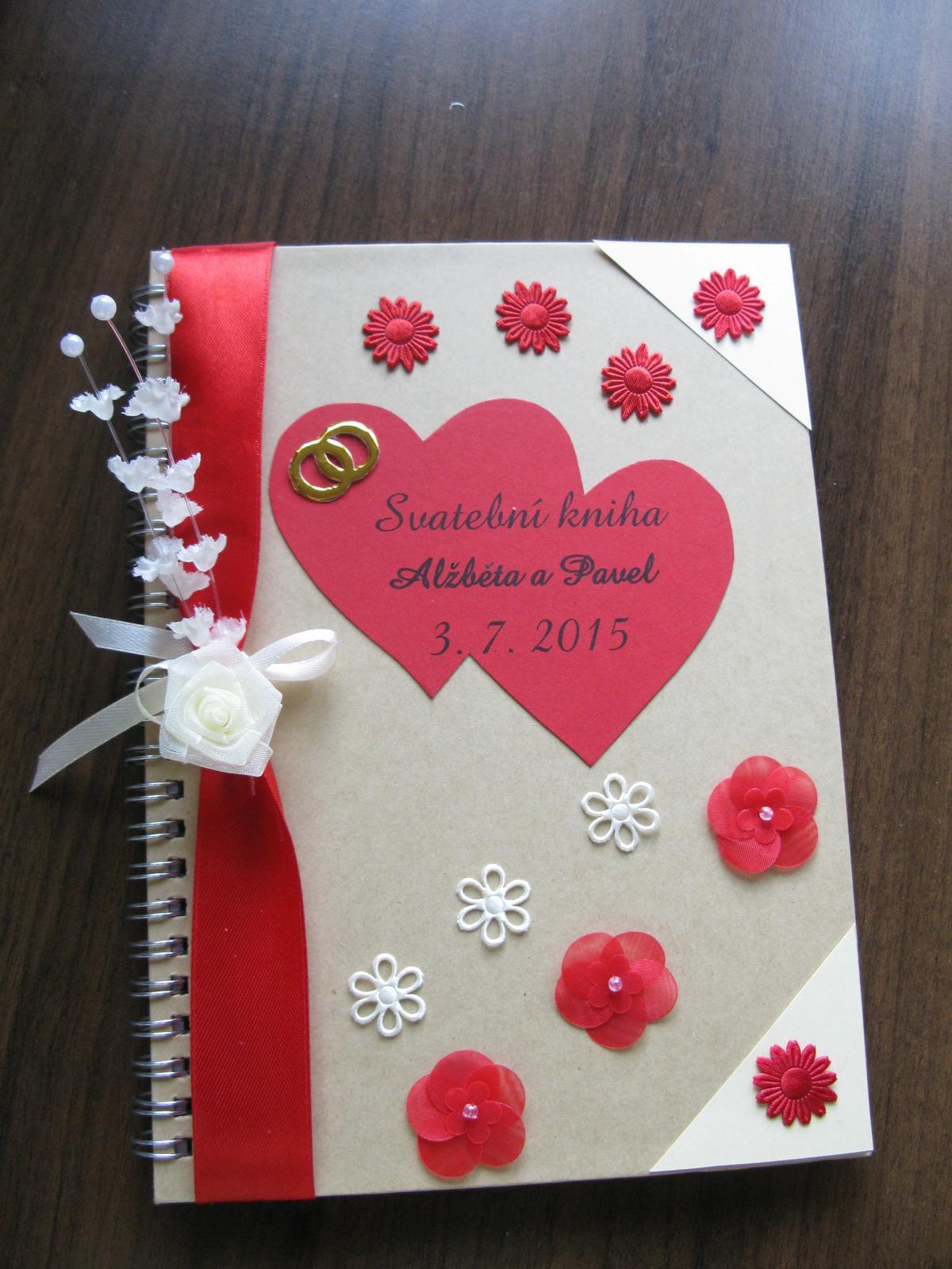 Svatební kniha - kniha hostů - Obrázek č. 1