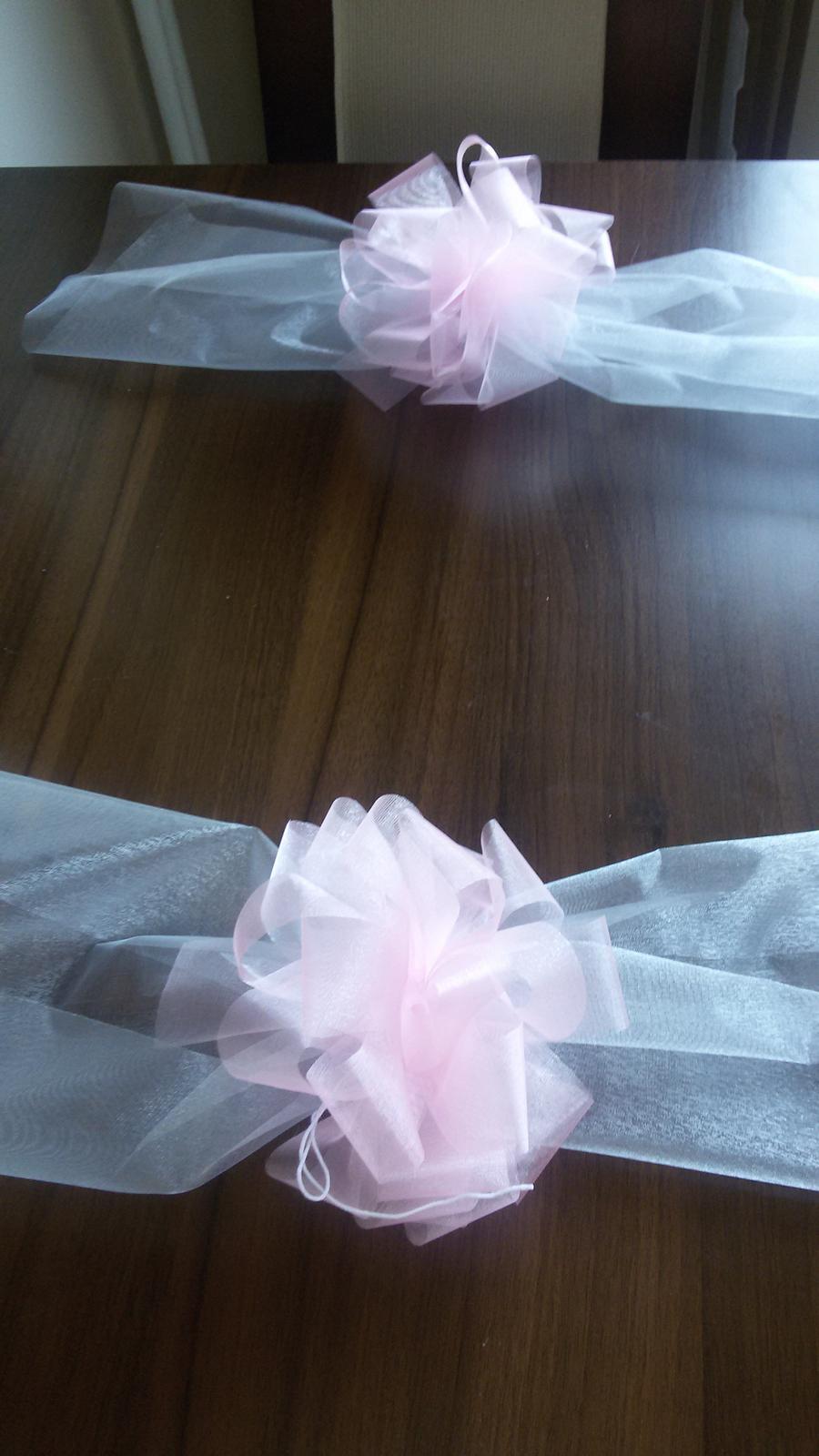 Šerpa na auto nevěsty/ženicha - Obrázek č. 2
