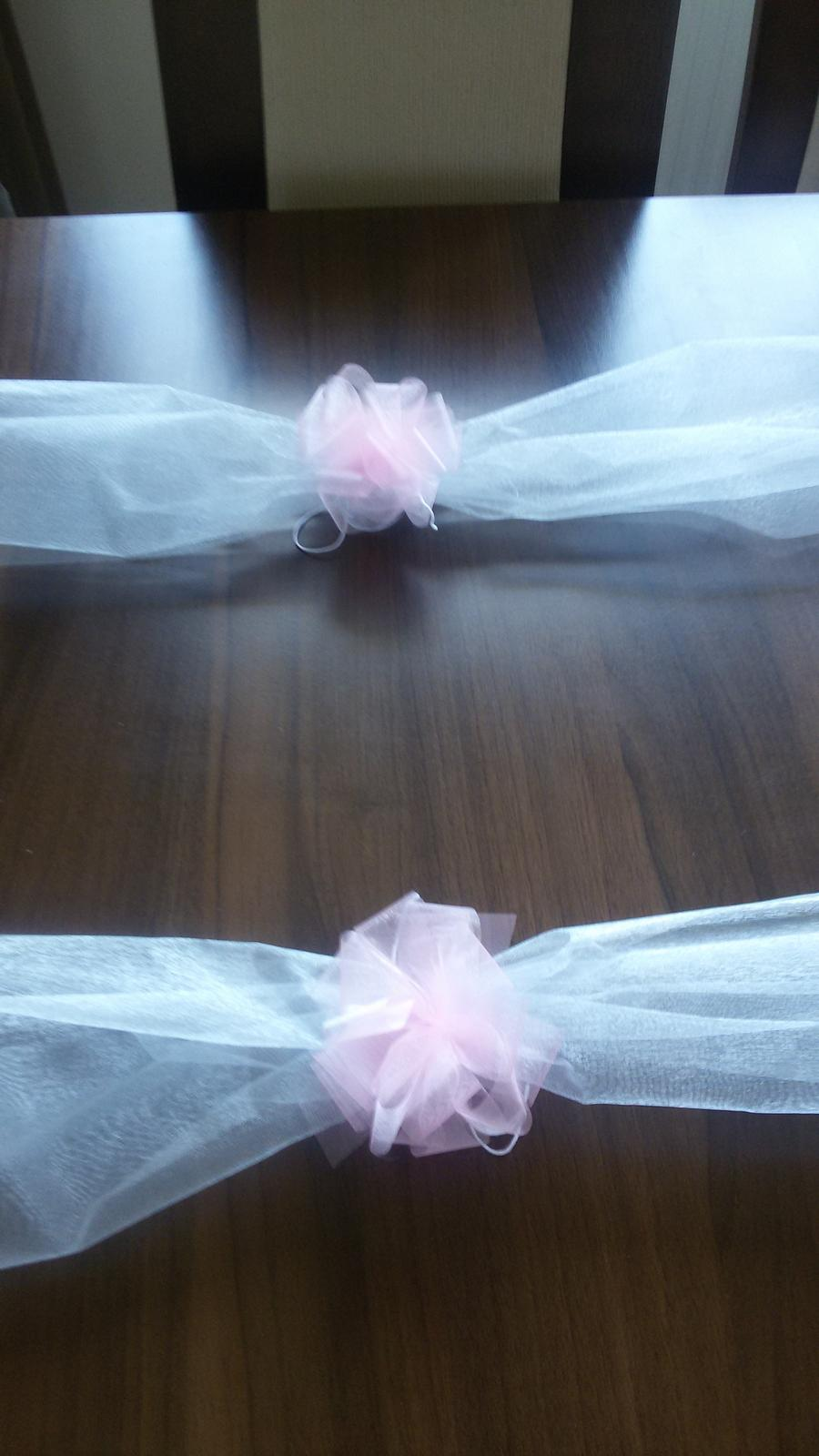Šerpa na auto nevěsty/ženicha - Obrázek č. 3