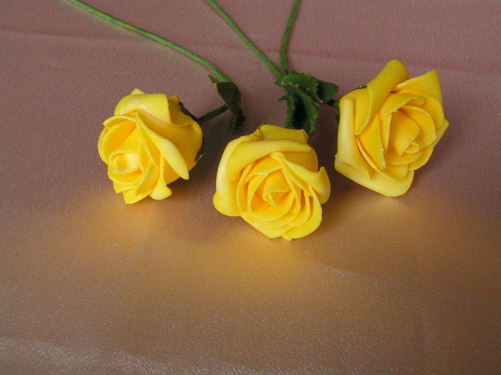 Pěnové růže - 5 cm - Obrázek č. 1