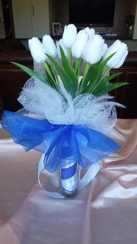 Neživá kytice z tulipánů - Obrázek č. 1