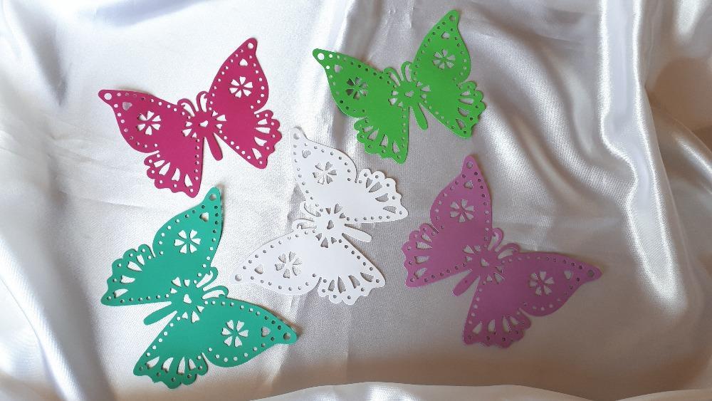 Velký papírový motýl - Obrázek č. 1