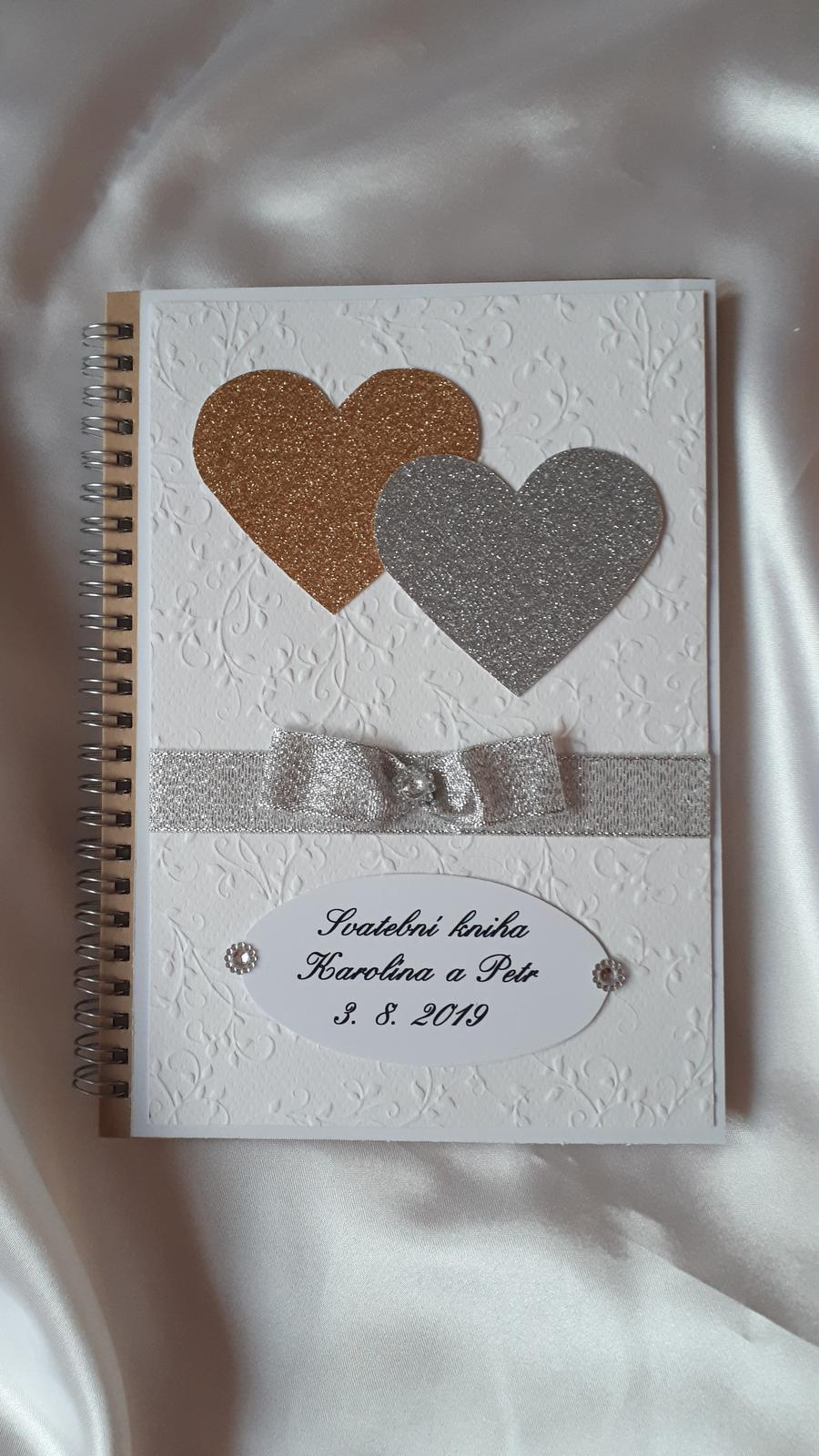 Svatební kniha - kniha hostů - Obrázek č. 2
