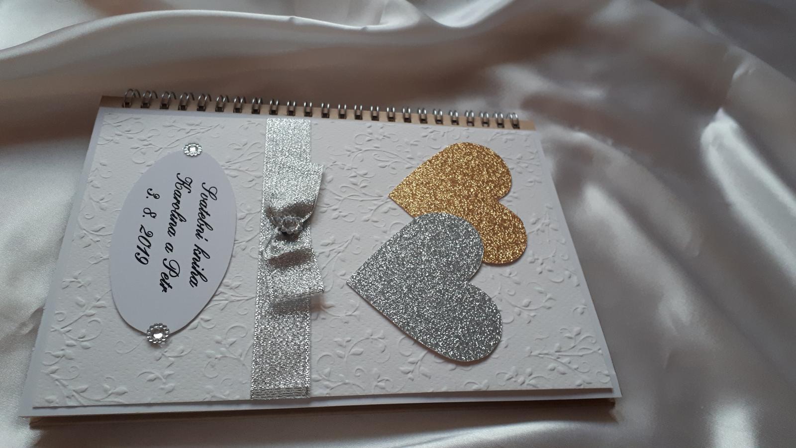 Svatební kniha - kniha hostů - Obrázek č. 4