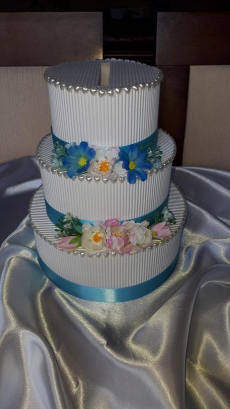 Papírový dort/pokladnička - Obrázek č. 2