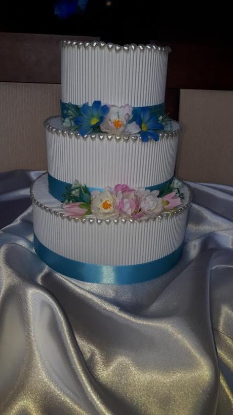 Papírový dort/pokladnička - Obrázek č. 3