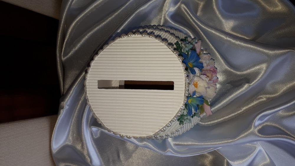 Papírový dort/pokladnička - Obrázek č. 4