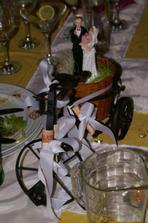 svadobny bicykel - prekvapko od rodicov
