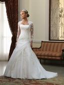 Svatební šaty vyšívané Maggie, 42