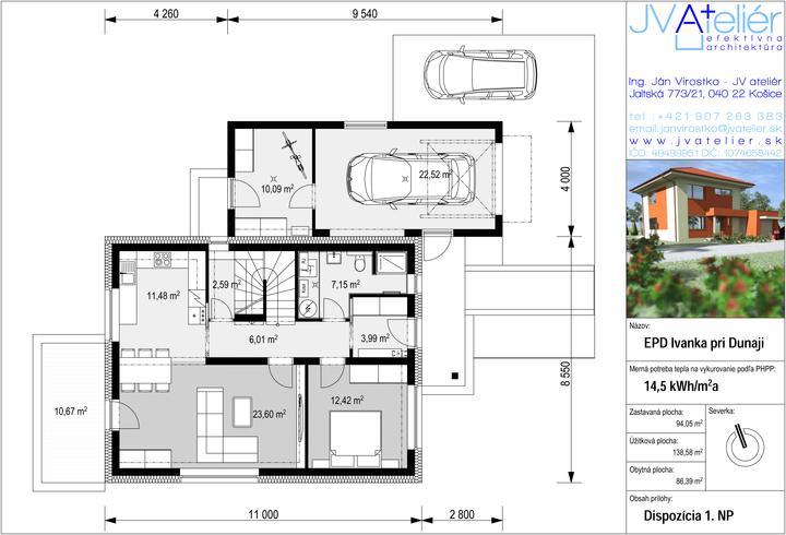 Energeticky pasívny dom v Ivanke pri Dunaji pre @peterma - Obrázok č. 2