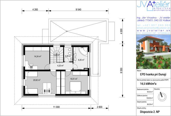 Energeticky pasívny dom v Ivanke pri Dunaji pre @peterma - Obrázok č. 3