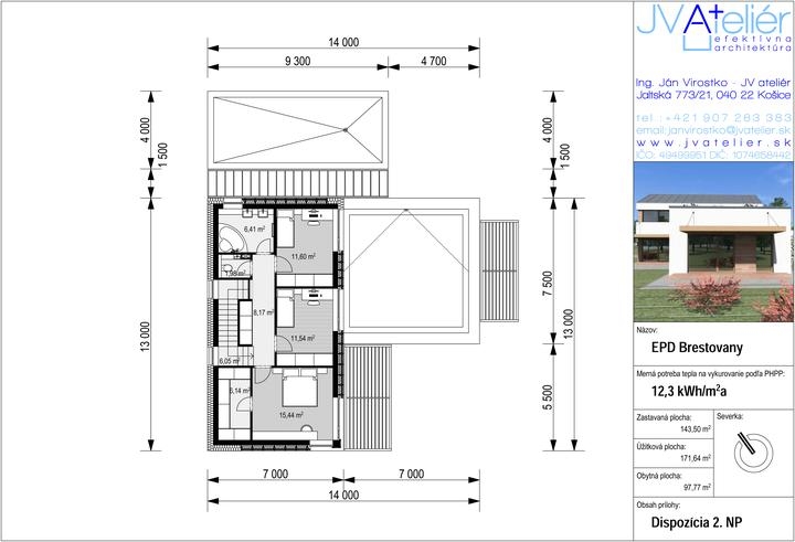 Energeticky pasívny dom v Brestovanoch pre @firhang - Obrázok č. 3