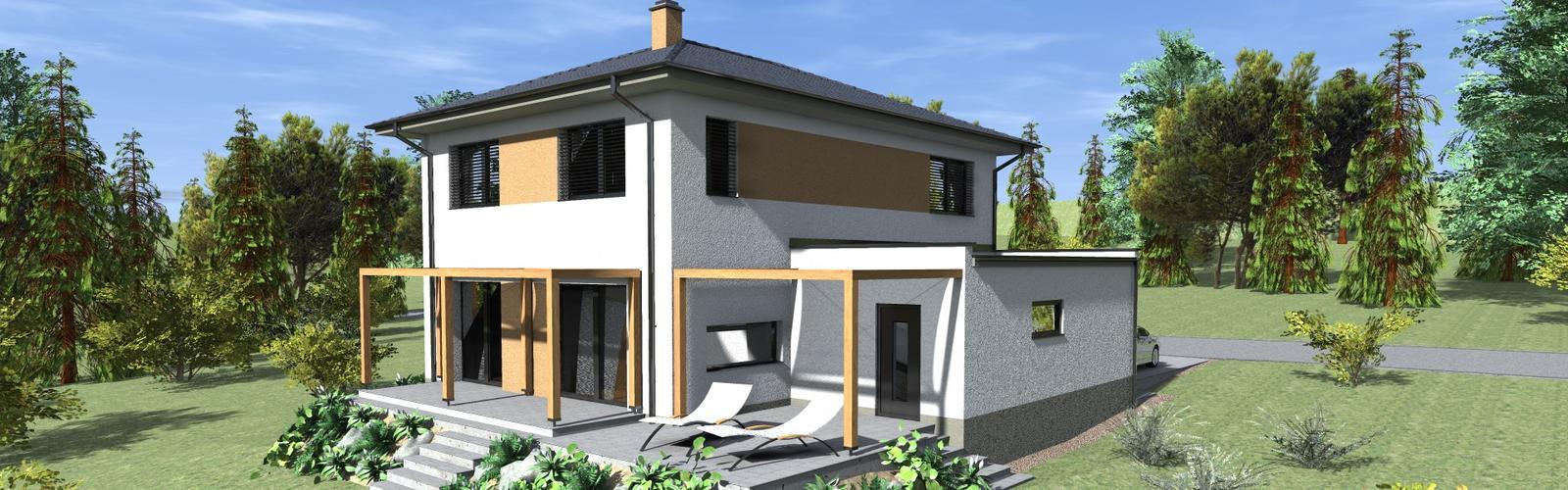 Nízkoenergetický dom v Malej Ide - Obrázok č. 1