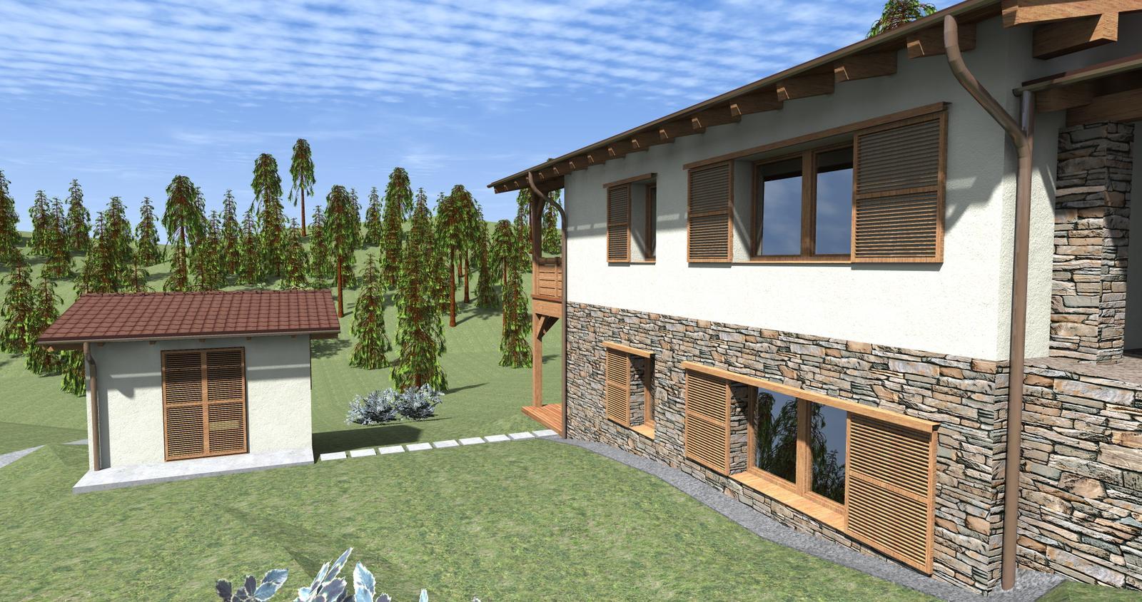 Rodinný dom A0 v Oravskej Lesnej - Obrázok č. 6