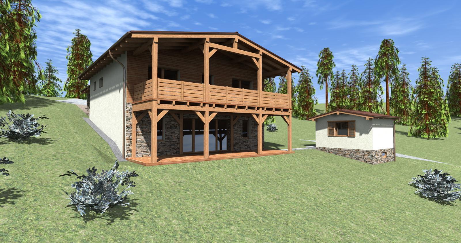 Rodinný dom A0 v Oravskej Lesnej - Obrázok č. 7