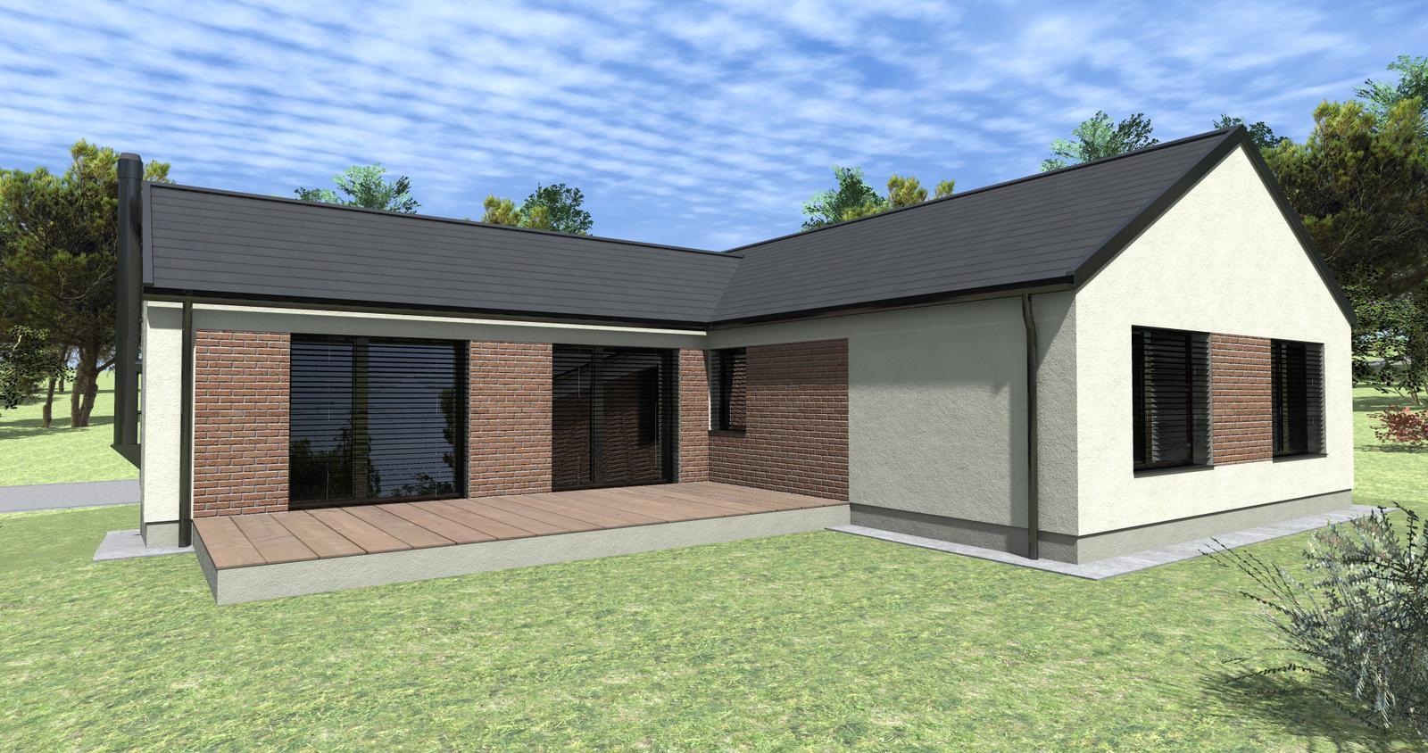 Rodinný dom A0 v Trsťanoch - Obrázok č. 2