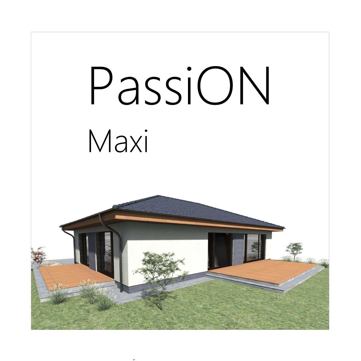 Projekt pasívneho domu - PassiON Maxi - Obrázok č. 1
