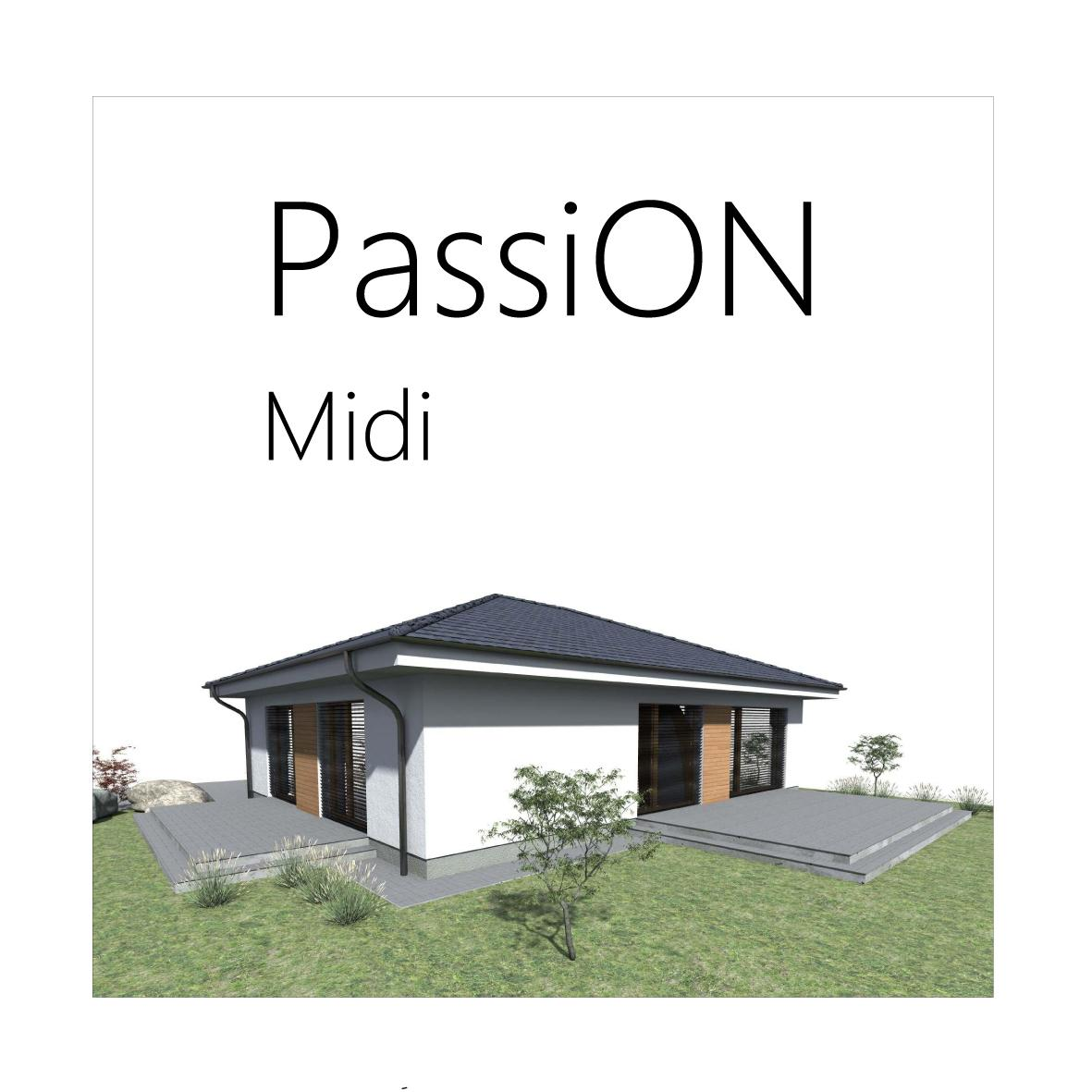 Projekt pasívneho domu - PassiON Midi - Obrázok č. 1
