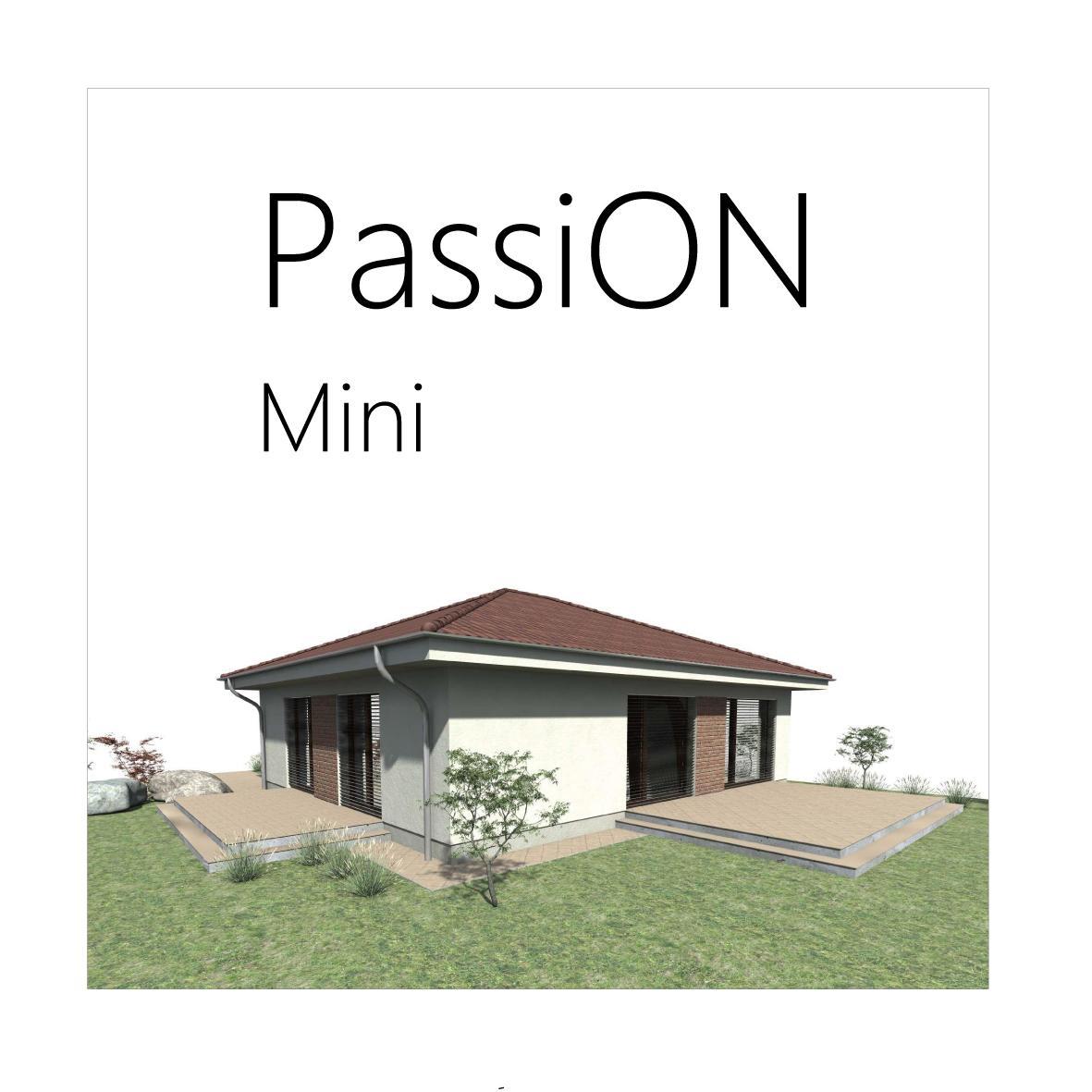 Projekt pasívneho domu - PassiON Mini - Obrázok č. 1