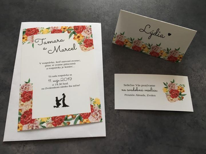 Nové svadobné oznámenia -  7773308983b