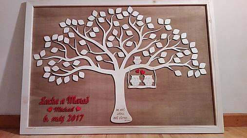 Hoc čo z dreva - svadobný strom