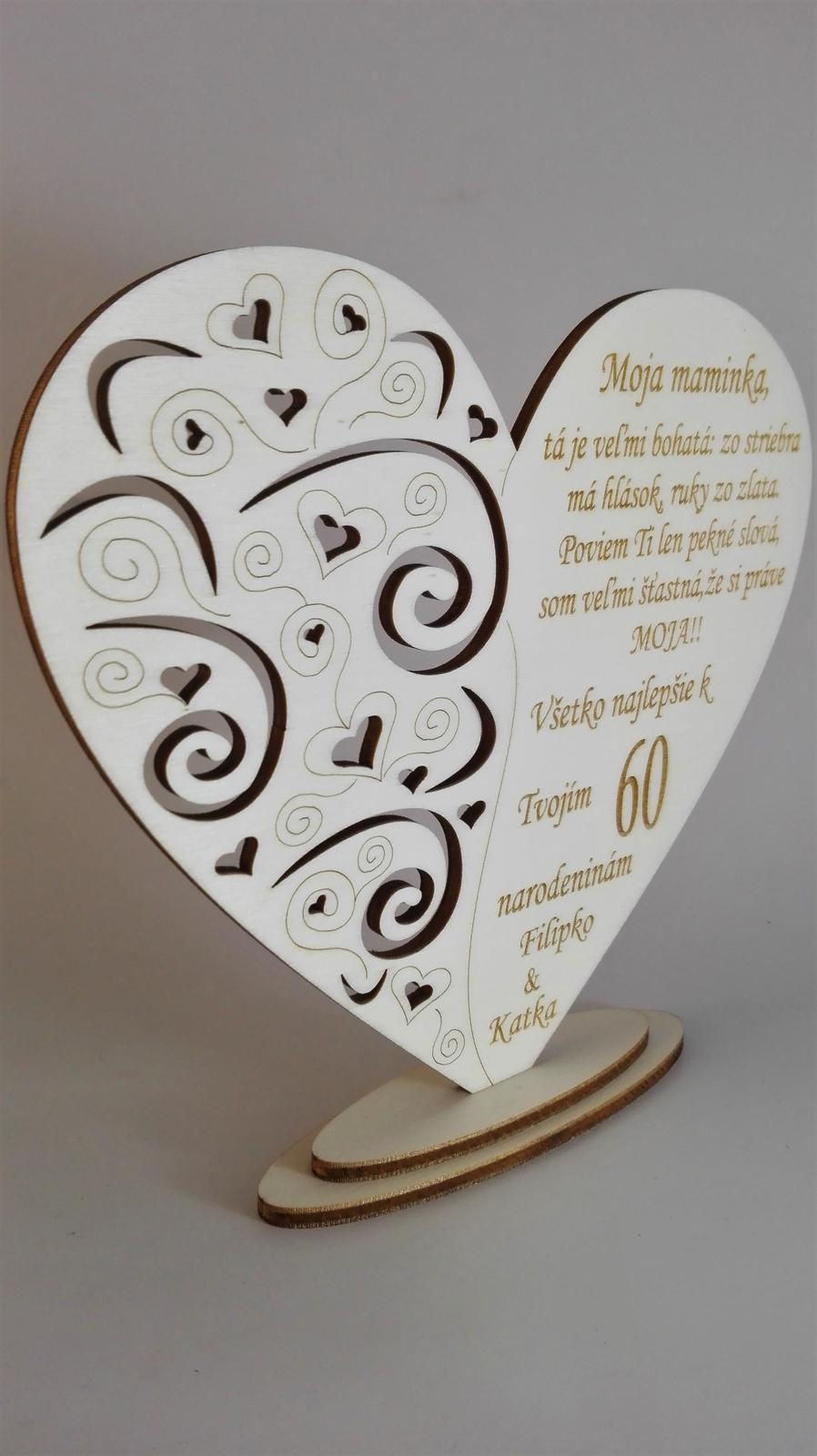 Drevené srdce výrez - Obrázok č. 4