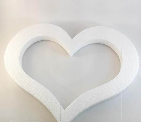 Polystyrenové srdcia - Obrázok č. 1