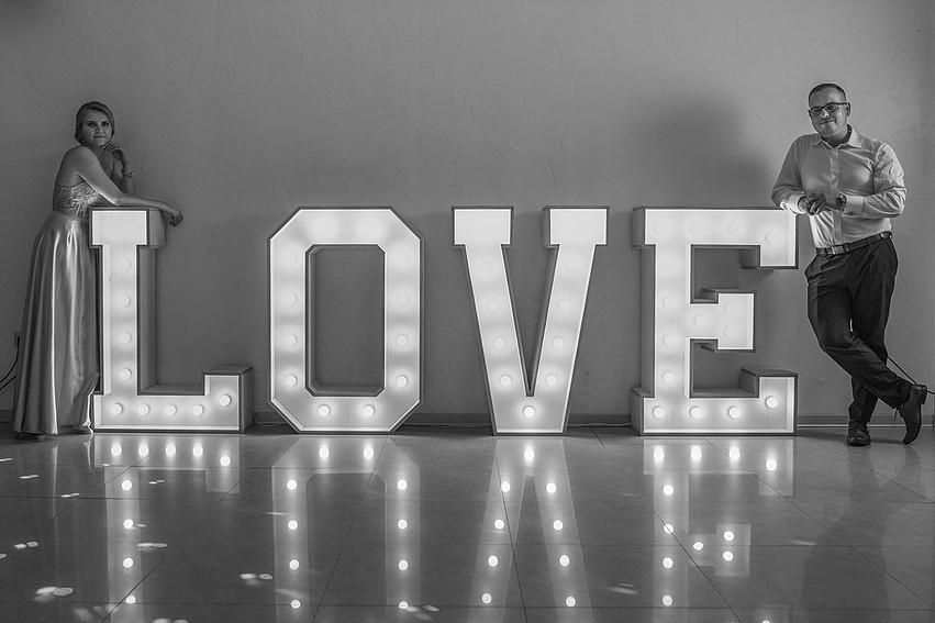 LOVE svietiace písmená - Obrázok č. 2