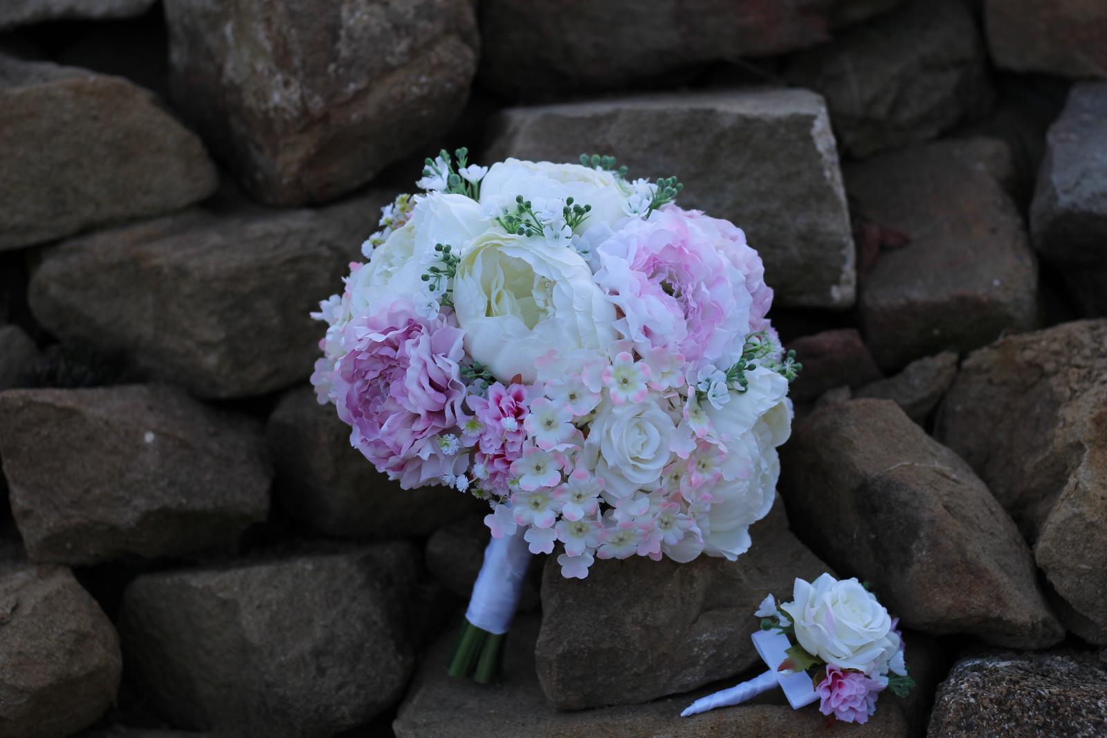 Svadobné kytice 4 druhy - Obrázok č. 1