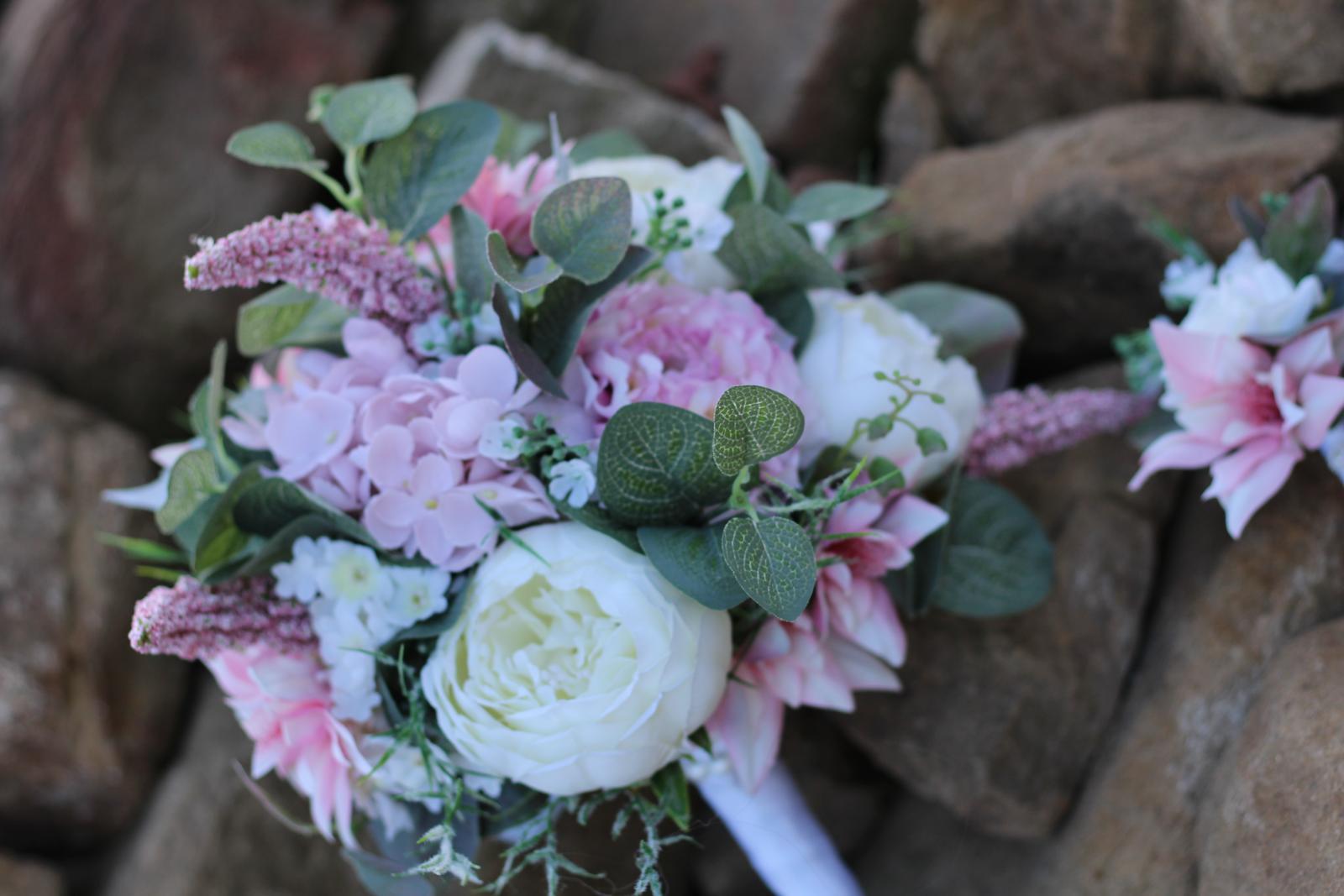 Svadobné kytice 4 druhy - Obrázok č. 4
